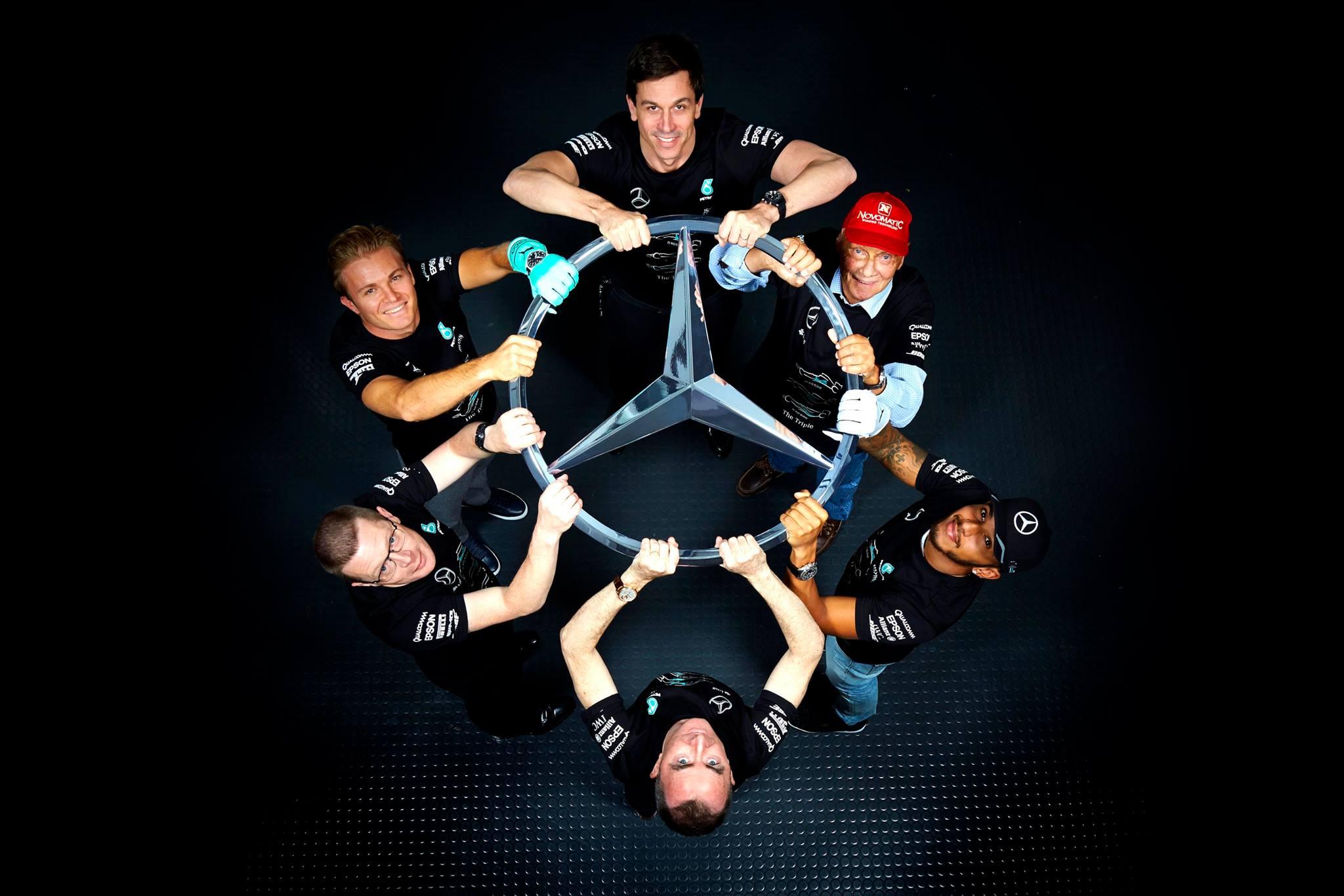 © Mercedes - Les hommes forts d'une équipe au firmament de la Formule 1, pour la troisième saison consécutive