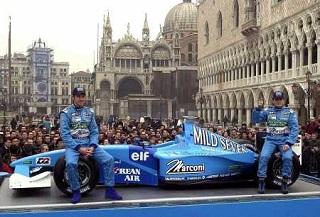 © Rai - La Benetton de 2001 présentée en direct de Venise