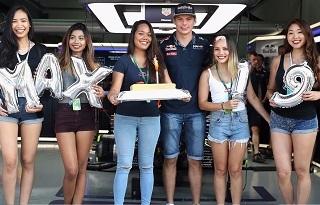 © Red Bull - Max Verstappen a dignement fêté ses 19 ans !