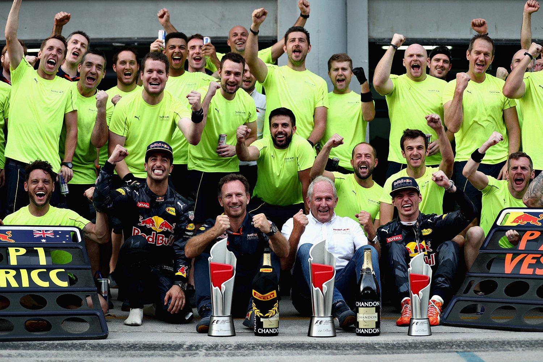 © Red Bull - Un 17ème doublé qui donne le sourire pour l'équipe autrichienne