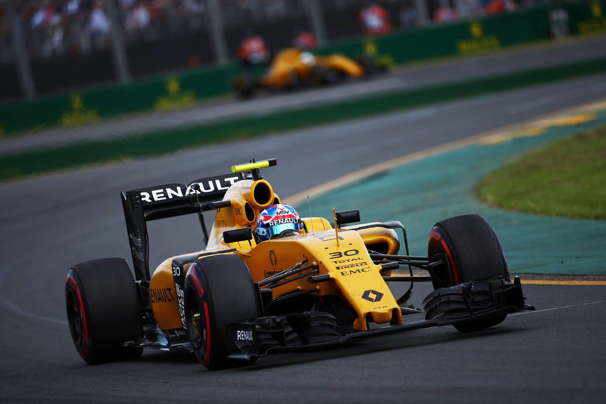 Premier Grand Prix satisfaisant pour le Rookie Jolyon Palmer.