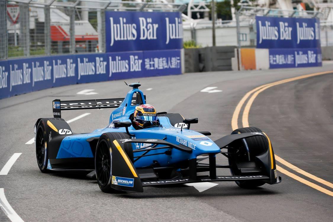 © Renault e.dams - Retour en fanfare du champion en titre à Hong Kong !