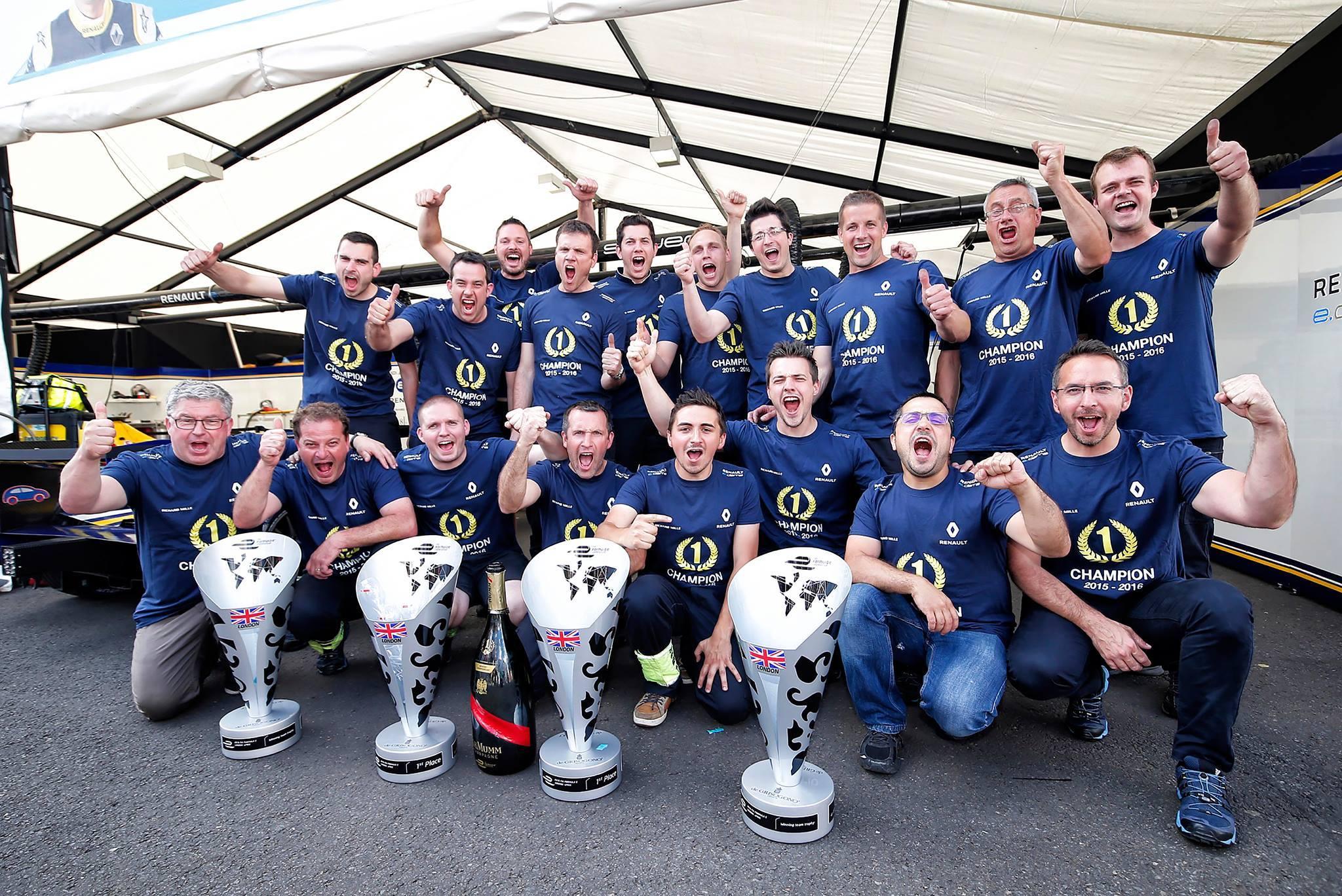 © Renault e.dams - L'équipe française parviendra t-elle à garder ses trophées à la fin de la troisième saison ?