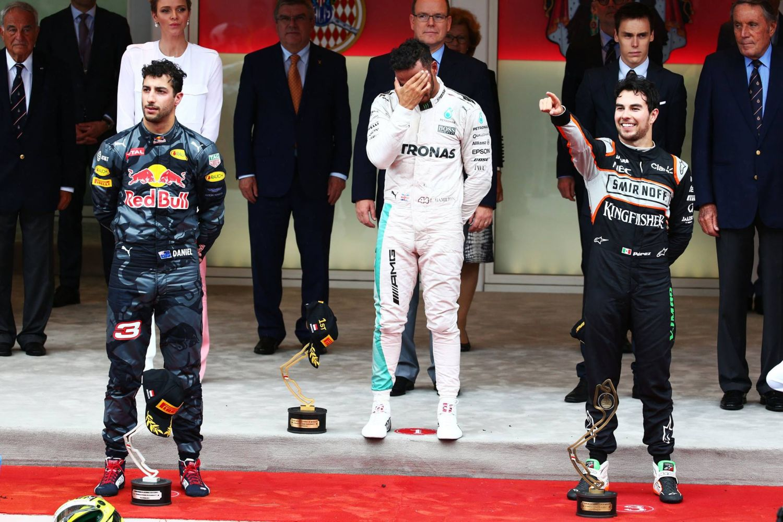 Malheureux sur le podium de cette édition 2016, Daniel Ricciardo a longtemps cru à la victoire, à la place de Lewis Hamilton !