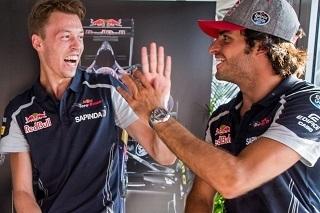 © Toro Rosso - Carlos Sainz et Daniil Kyvat rempilent donc de concert pour 2017 !
