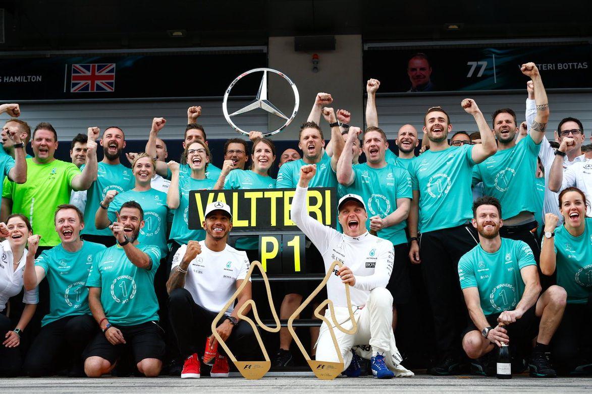 © Mercedes-AMG F1 - Des débuts difficiles mais une fin en apothéose