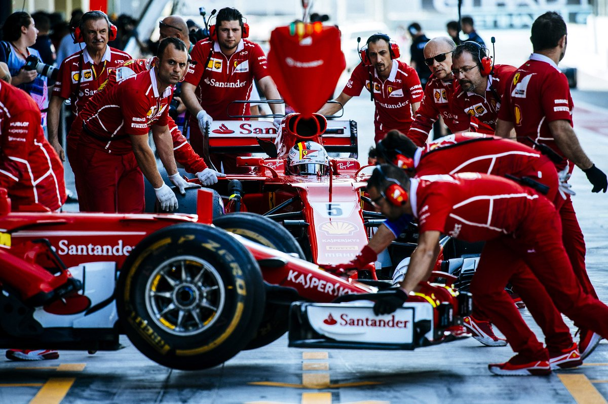 © Scuderia Ferrari - Pas de retard à l'allumage à Maranello