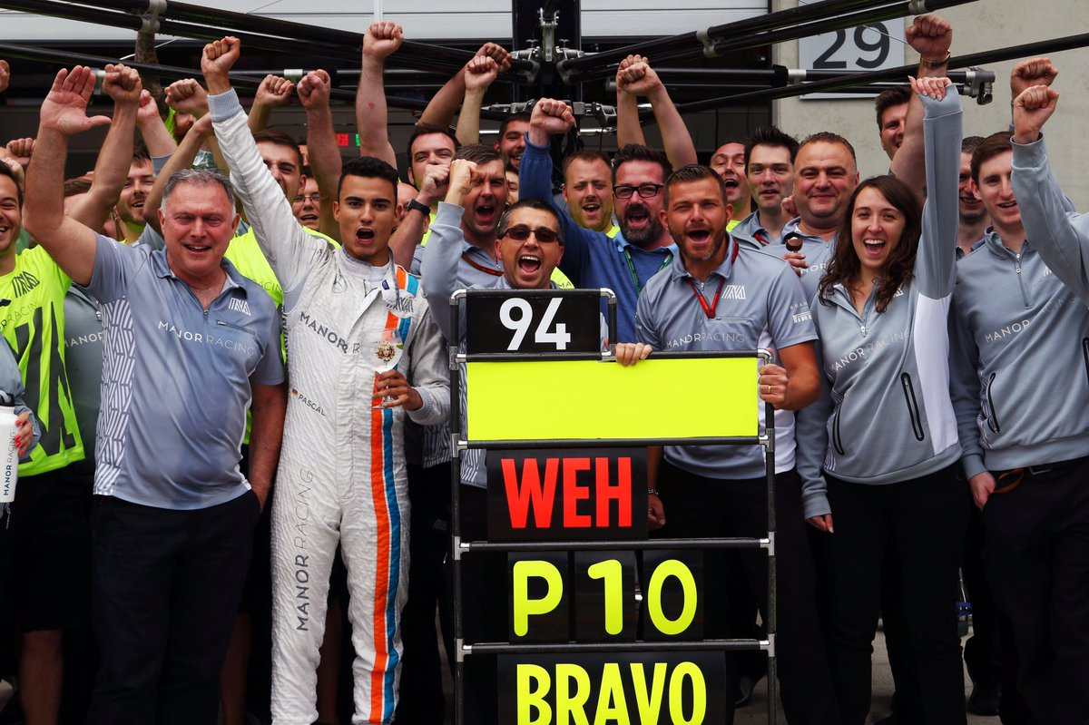 © Manor - Wehrlein sera probablement chez Sauber en 2017