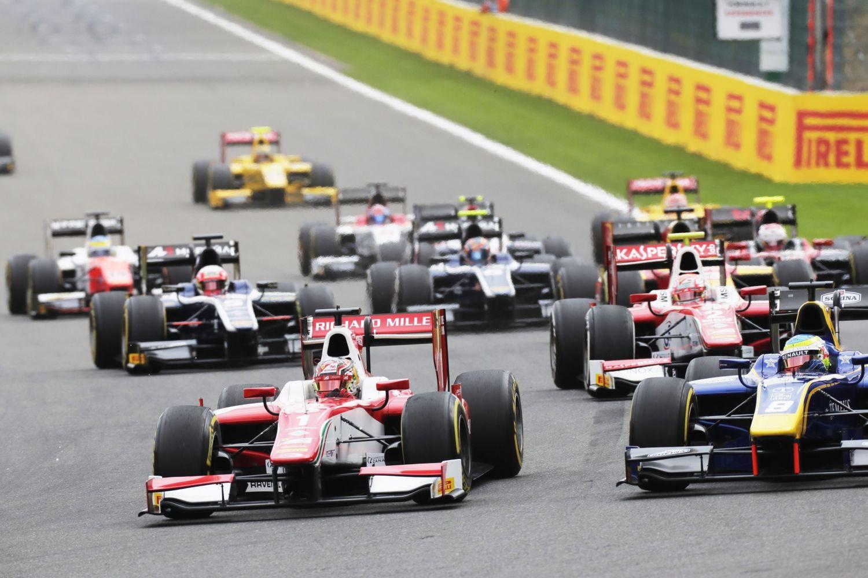 © Zak Mauger/FIA Formula 2 - Charles Leclerc ne fut menacé qu'au départ