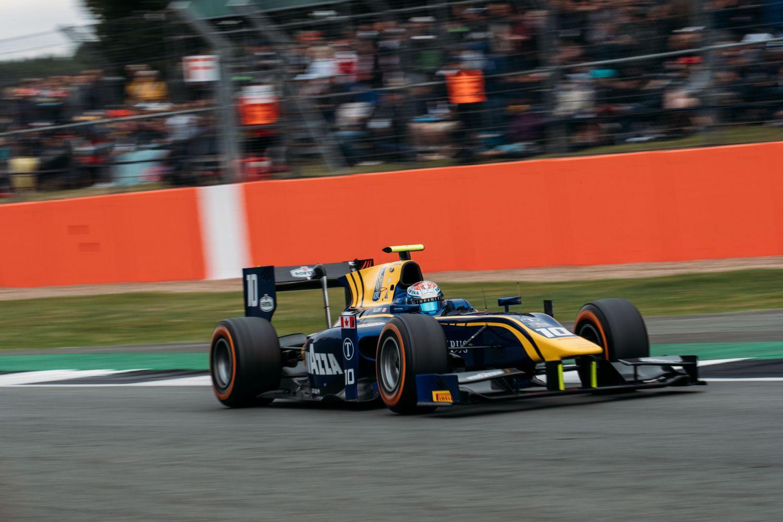 Nicholas Latifi, intouchable à Silverstone