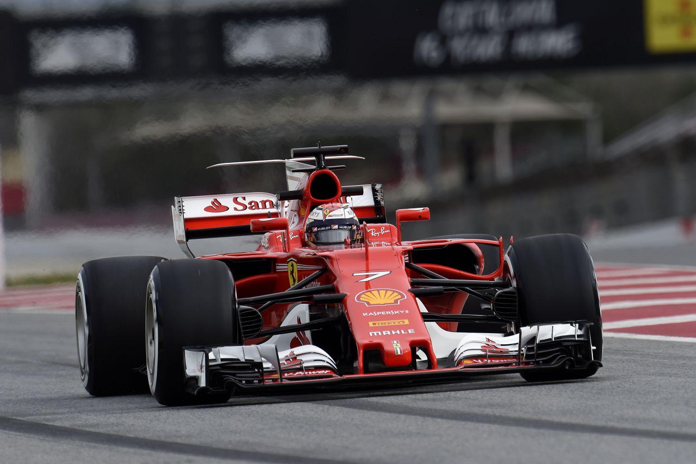 © Ferrari - De nouveau une belle journée pour Kimi Raikkonen et Ferrari