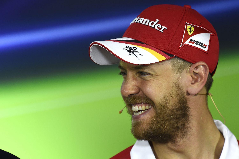 © Ferrari - Sebastian Vettel peut avoir le sourire : les perspectives sont belles chez Ferrari !