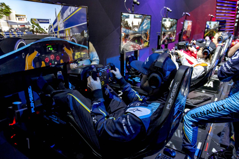 La Formule E a mis un premier pas dans l'e-sport avec la course qui s'est déroulée à Las Vegas