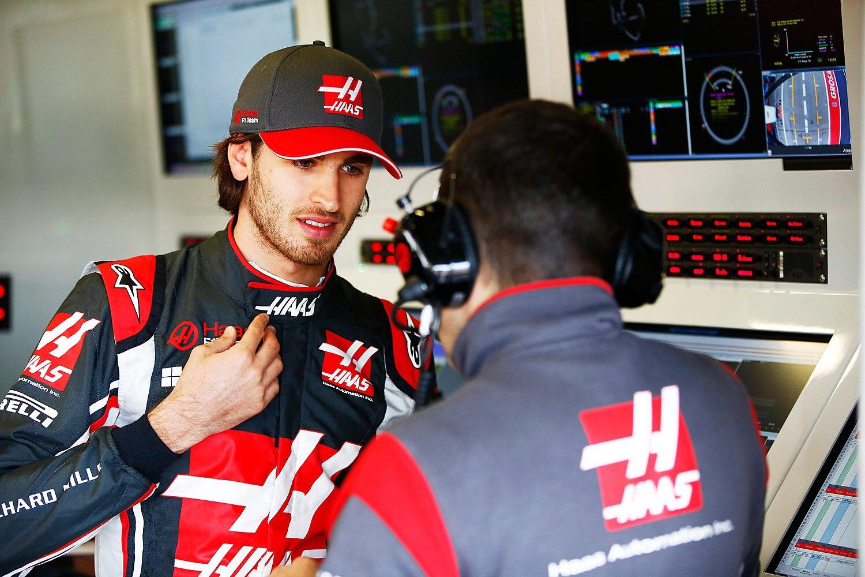 © Haas - Antonio Giovinazzi a découvert le fonctionnement d'une troisième équipe de F1