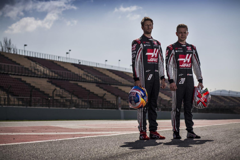 © Haas - Romain Grosjean et Kevin Magnussen devraient porter les mêmes couleurs l'an prochain