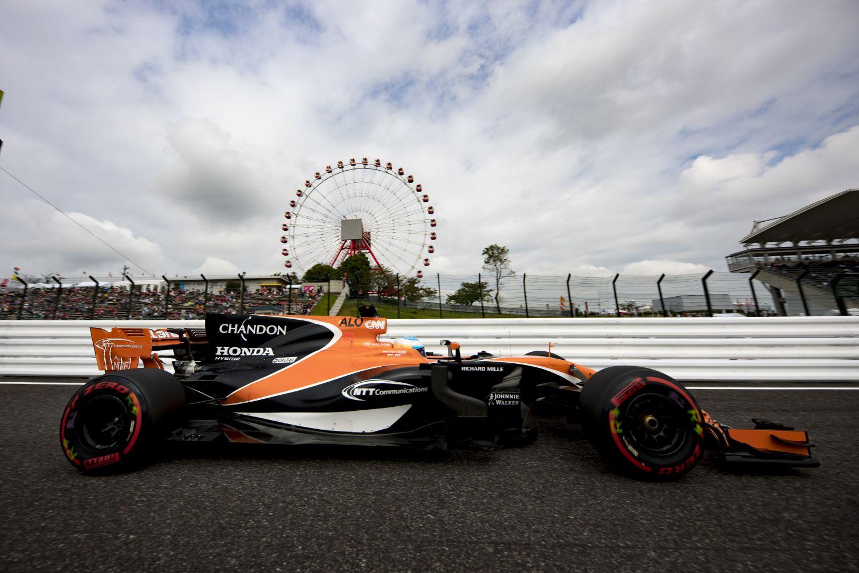 © McLaren - McLaren et Honda ensemble à Suzuka, c'est terminé