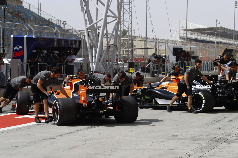 © McLaren - Nouvelle séance de qualifications difficile pour McLaren