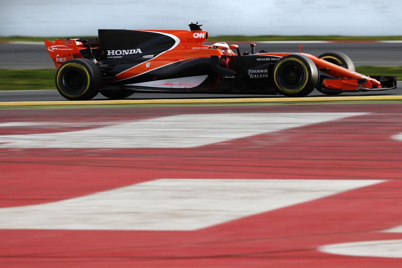 © McLaren - Le temps de piste est jugé trop limité par McLaren