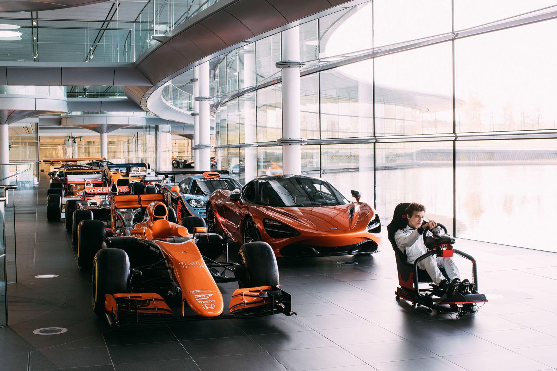 © McLaren - L'eSport fait son entrée en F1