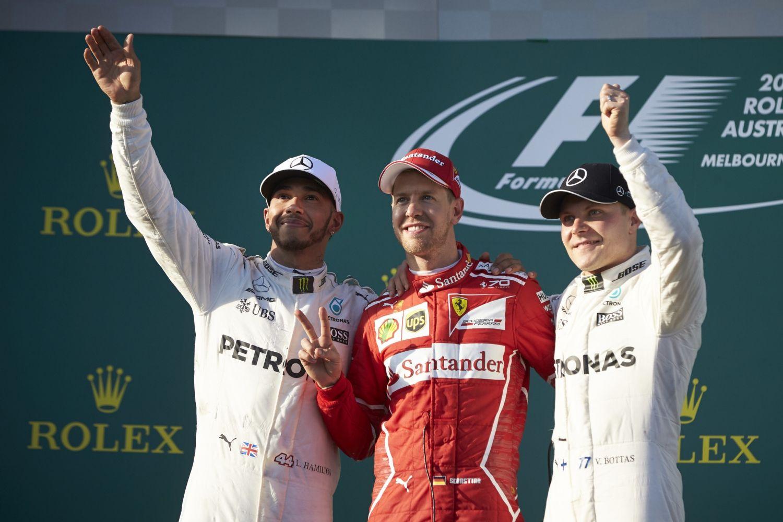 © Mercedes - Hamilton, Vettel et Bottas peuvent encore être titré cette année