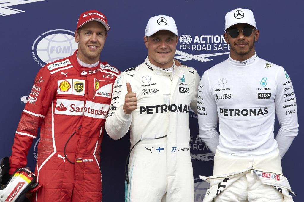 © Mercedes - Valtteri Bottas signe sa seconde pole de l'année