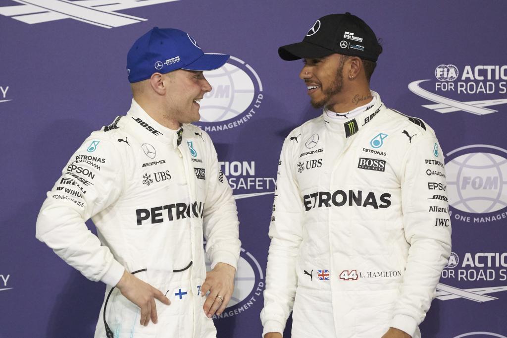 © Mercedes - Les pilotes Mercedes peuvent partir en vacances avec le sourire