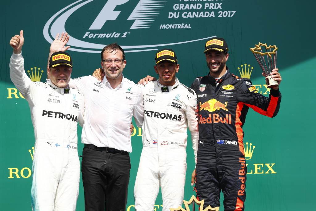 © Mercedes - Lewis Hamilton a dominé sans coup férir