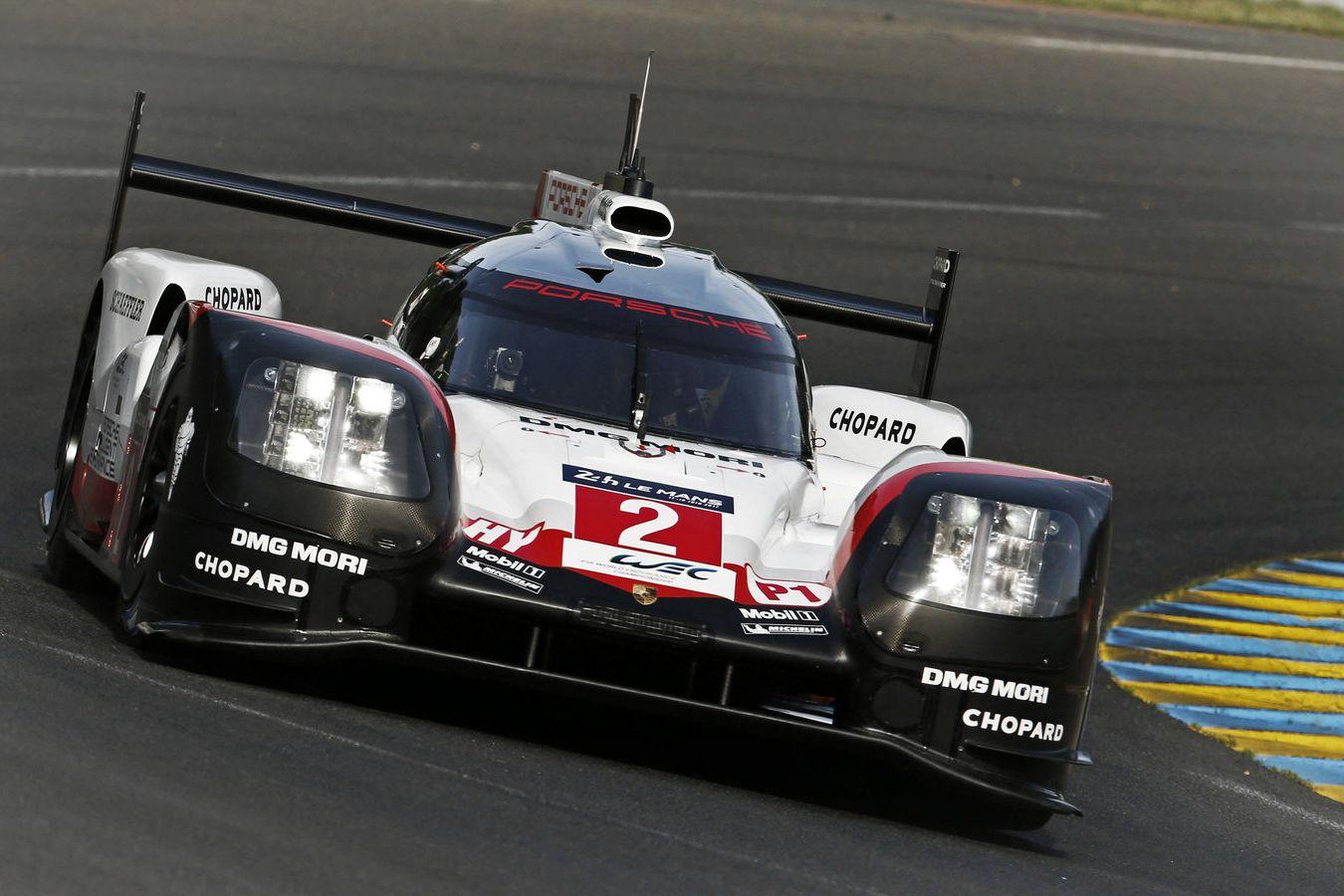 © Porsche - La numéro 2 est revenue du fin fonds du classement