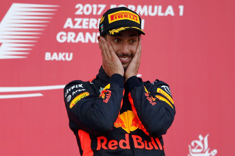 © Red Bull- Daniel Ricciardo, parti dixième en 2017... et incroyable vainqueur à l'arrivée !