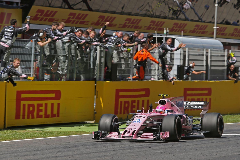 © Force India - Sentiment de victoire pour Esteban Ocon et Sahara Force India