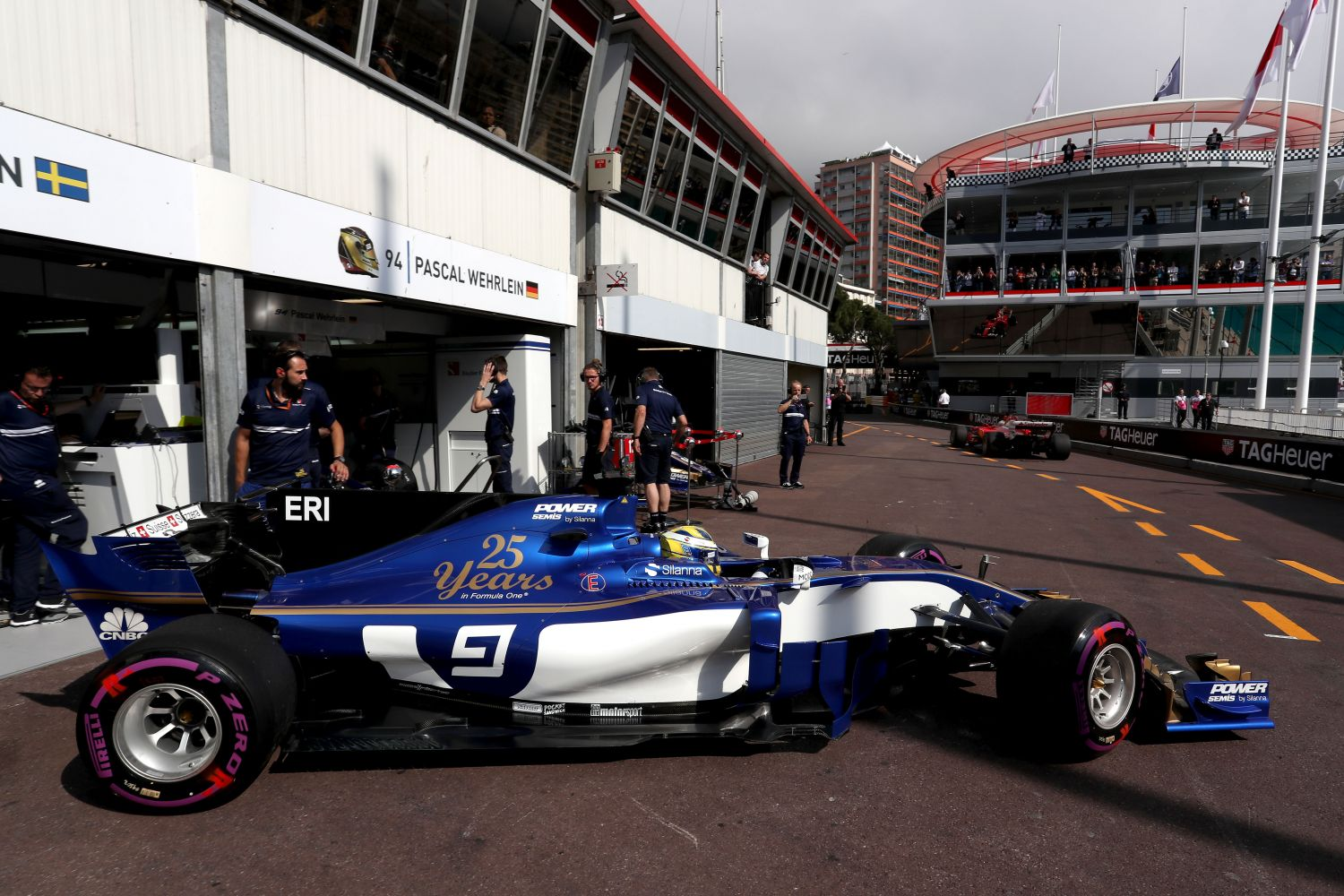 © Sauber - Les ultra tendres étaient indestructibles à Monaco