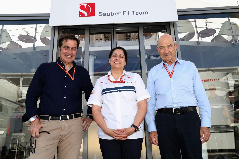 Peter Sauber et Monisha Kaltenborn cèdent la place à Pascal Picci