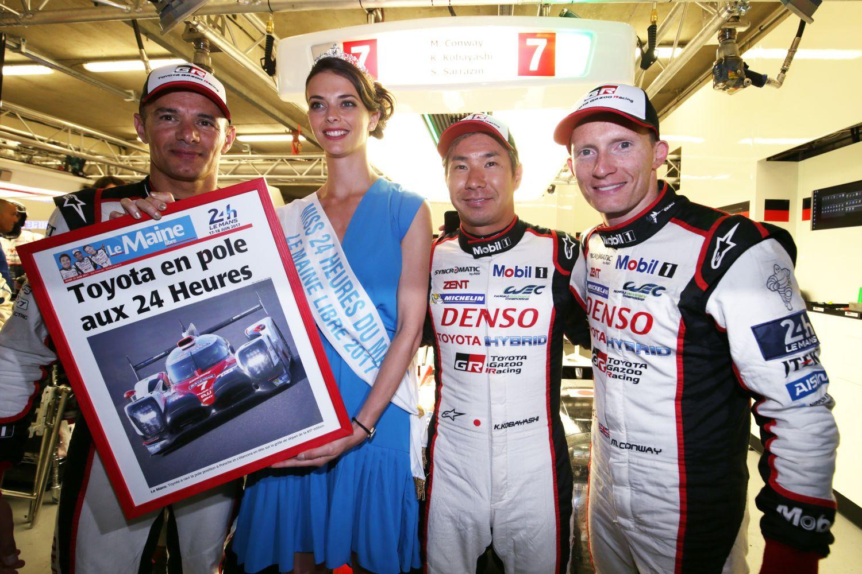 © Toyota - La Toyota n°7 détient le nouveau record au Mans !
