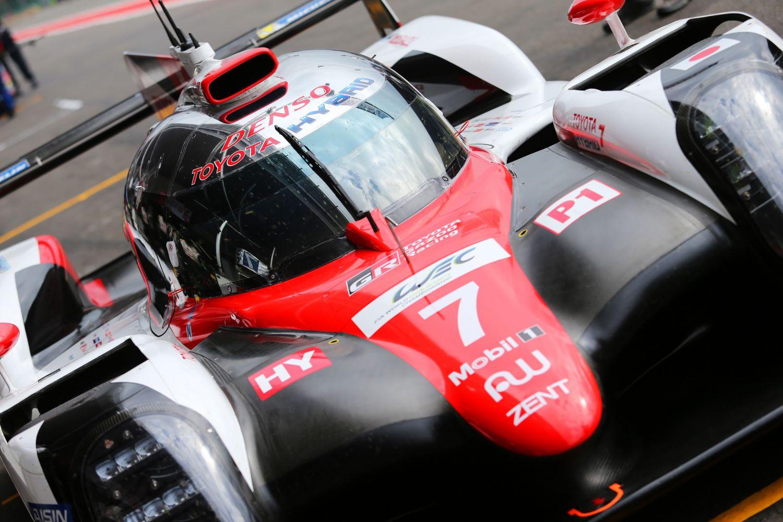 © Toyota - Le trio de pilotes de la Toyota n°7 a changé