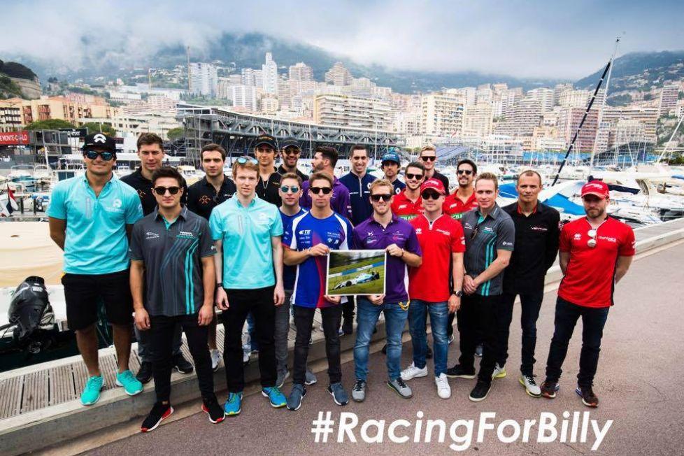 © Les pilotes de Formula E à l'unisson pour le combat de Billy Monger