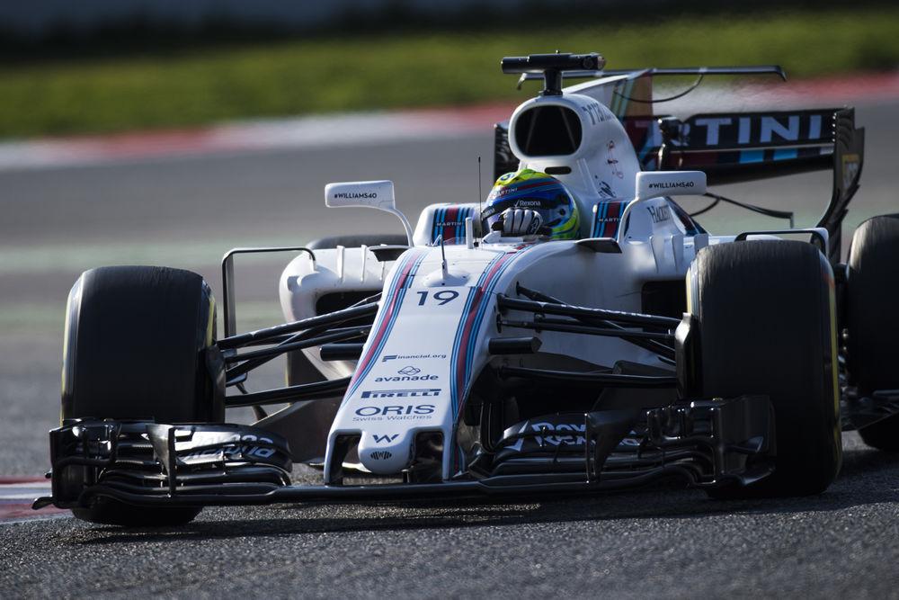 © Sam Bloxham/Williams F1 - Felipe Massa a eu une journée très remplie