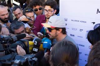 © C.Ciampini/Motorsinside - Voulez vous être le prochain à interviewer Fernando Alonso ?
