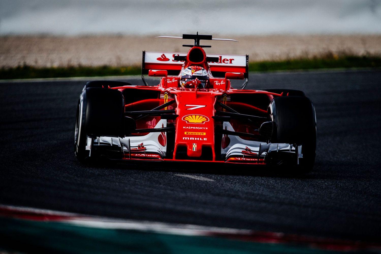 © Ferrari - Raikkonen dépossède Hamilton de la tête