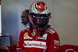 © Ferrari - Kimi Raïkonnen impose son temps malgré ses malheurs
