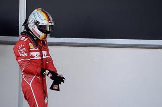 © Ferrari - L'Allemand a fait le travail avant que la pluie n'arrive