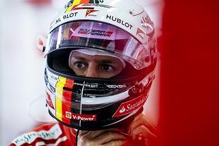 © Ferrari - Le décpetion pouvait se lire sur le visage de Vettel après la course