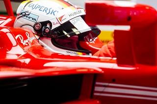 © Ferrari - Vettel a été le plus rapide