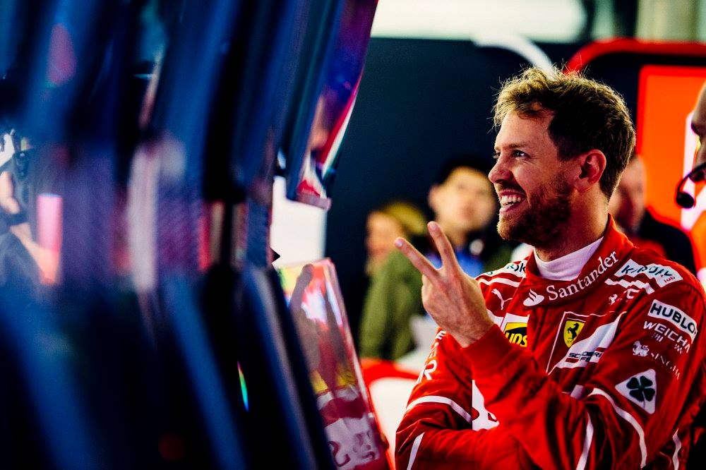 © Ferrari - Meilleur temps et record de la piste pour Vettel