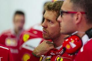 © Ferrari - Vettel était inquiet à propos de sa boite de vitesse