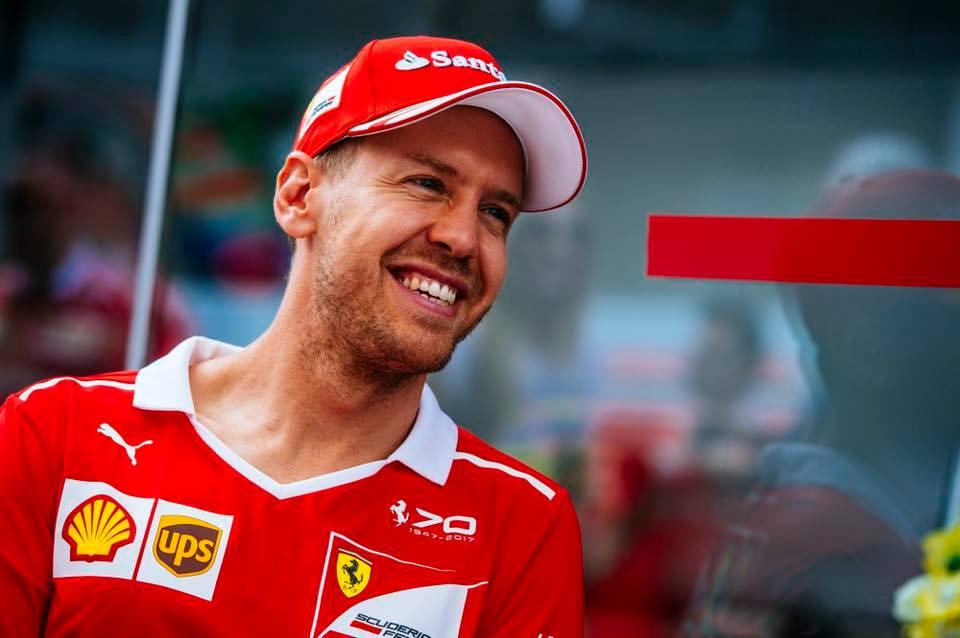 © Ferrari - Vettel retrouve le sourire après sa victoire brésilienne