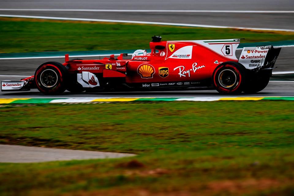 © Ferrari - Vettel aura profité du départ lointain d'Hamilton pour triompher !