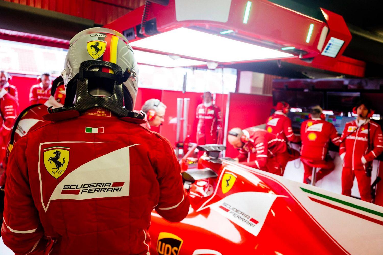 © Ferrari - Une première place mais surtout une concentration maximale au sein de la Scuderia