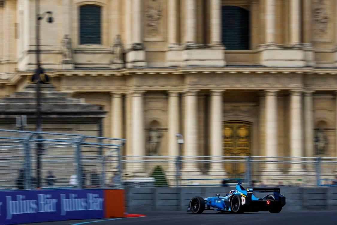 Aucun pilote n'aura pu atteindre Sébastien Buemi à Paris