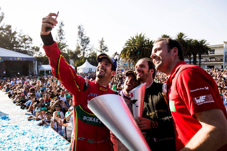 © FIA Formula E -Le podium d'une course folle !