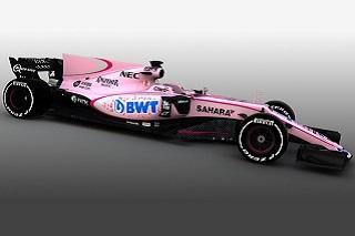 © Sahara Force India - Pérez et Ocon vont voir la vie en rose cette saison